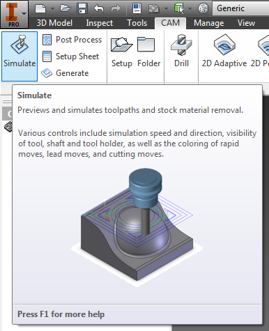 Toolpath Simulation Glyph